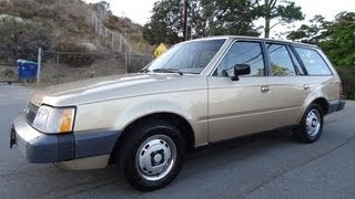 Mercury Lynx Hatchback L Station Wagon Ford Escort 5 Door 85 1.9L Test Drive Walk Around Video