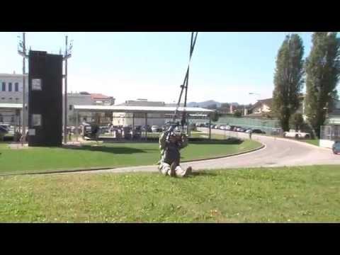 Basic Airborne Refresher Training at Caserma Ederle, Vicenza, Italy