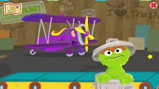 Sesame Street: Oscar's Rotten Ride - Junk My Jacket - Game Video For Kids So Fun - Kids TV Channel