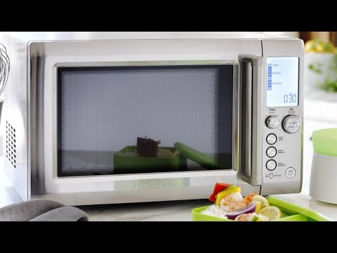 Breville The Quick Touch Smart Microwave Unboxing Frist Look