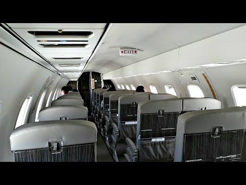JetSuiteX ERJ-135LR Flight Experience (LAS to BUR)