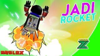 ROBLOX Indonesia   Rocket Simulator   Hah?! We become ROCKET???!!