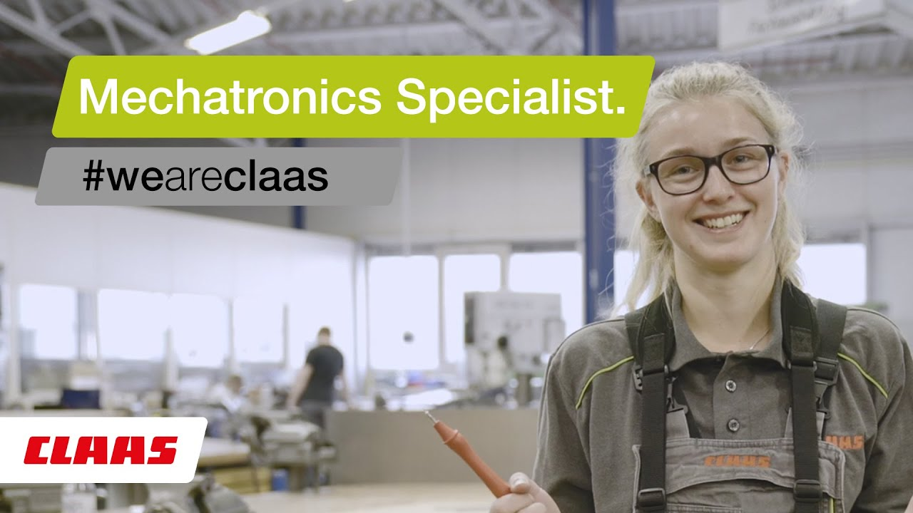 Apprenticeship Mechatronics Specialist at CLAAS.