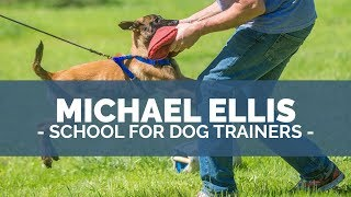 Michael Ellis And Ed Frawley Discussing Michael's School For Dog Trainers