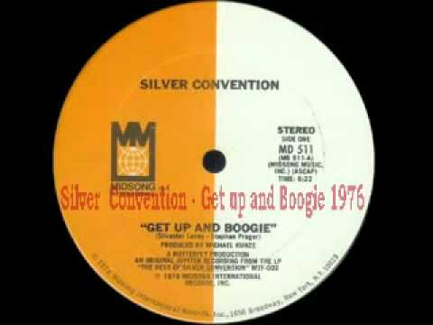 70's disco music -Silver Convention - Get Up and Boogie 1976