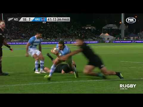 The Rugby Championship: All Blacks vs Argentina