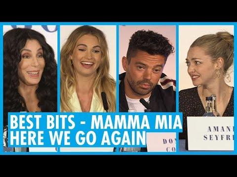 BEST BITS - Mamma Mia Here We Go Again Press Conference