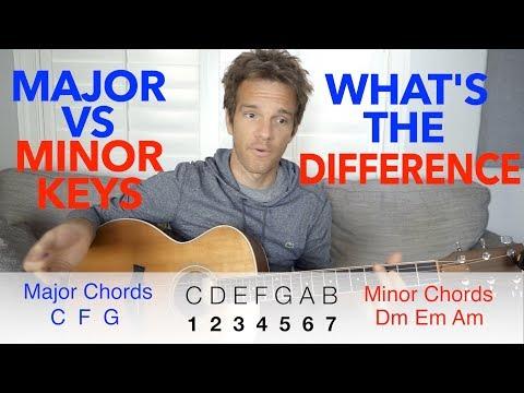 Minor Keys vs Major Keys, What's the Difference