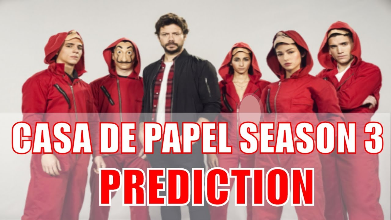 LA CASA DE PAPEL SEASON 3 - MONEY HEIST IS COMING BACK - MY REACTION