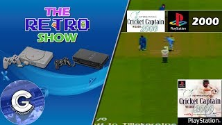 The Retro Show | International Cricket Captain 2000 | PS1 | IT KEEPS CRASHING! | Retro Games