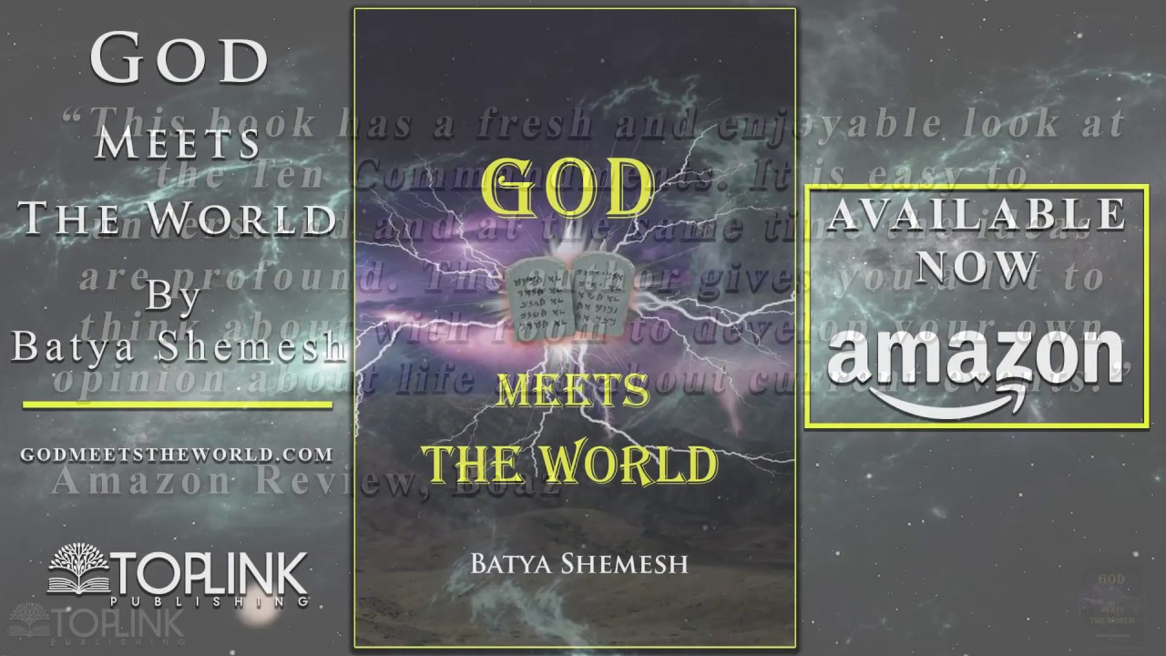TOPLINK BOOK TRAILER: God Meets the World