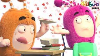 Oddbods  Novo  Encontro rapido  Dia dos Namorados Especial  Desenho animado para crianas