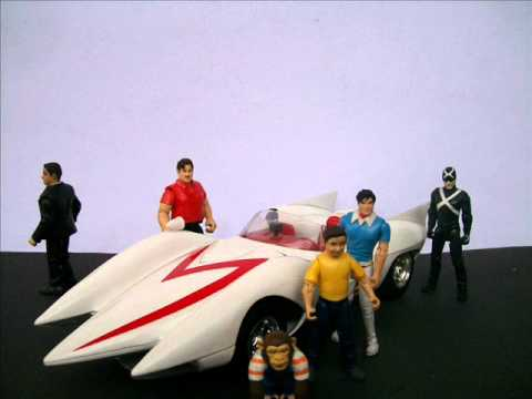 Speed Racer Mach 5 Toy Show / Review