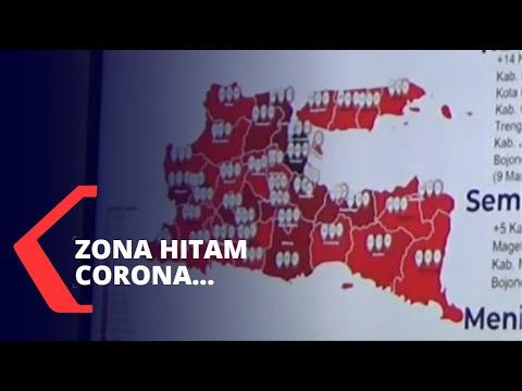 Jawa Timur Jadi Zona Hitam Penyebaran Virus Corona