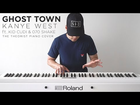 Kanye West - Ghost Town ft. Kid Cudi & 070 Shake | The Theorist Piano Cover