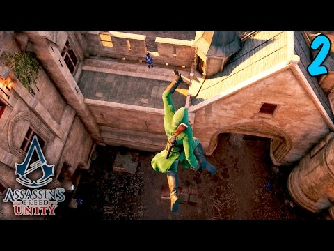 Assassin's Creed Unity Coop - Free Roam Fun - Episode 2