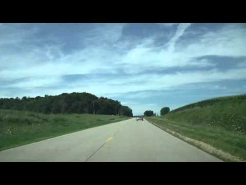 The Great River Road in Iowa