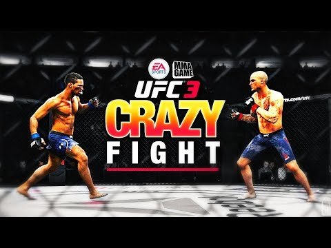 CRAZY Back & Forth Barn BURNER in UFC 3 Beta!