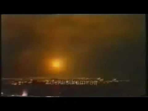 Bombarding Israel