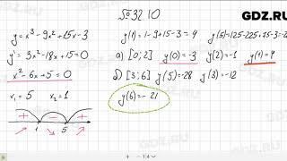 № 32.10 - Алгебра 10-11 класс Мордкович