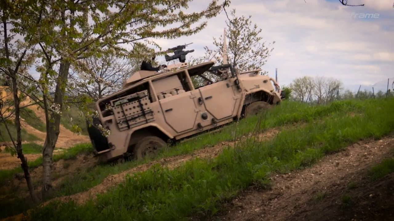 VENPIR – OUTFIELDER SOFRAME – Special forces type vehicle ...