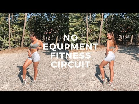 NO EQUIPMENT OUTDOOR FITNESS CIRCUIT || Erin Williams