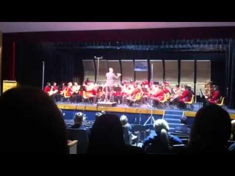 Watonga High School Band trip 2013