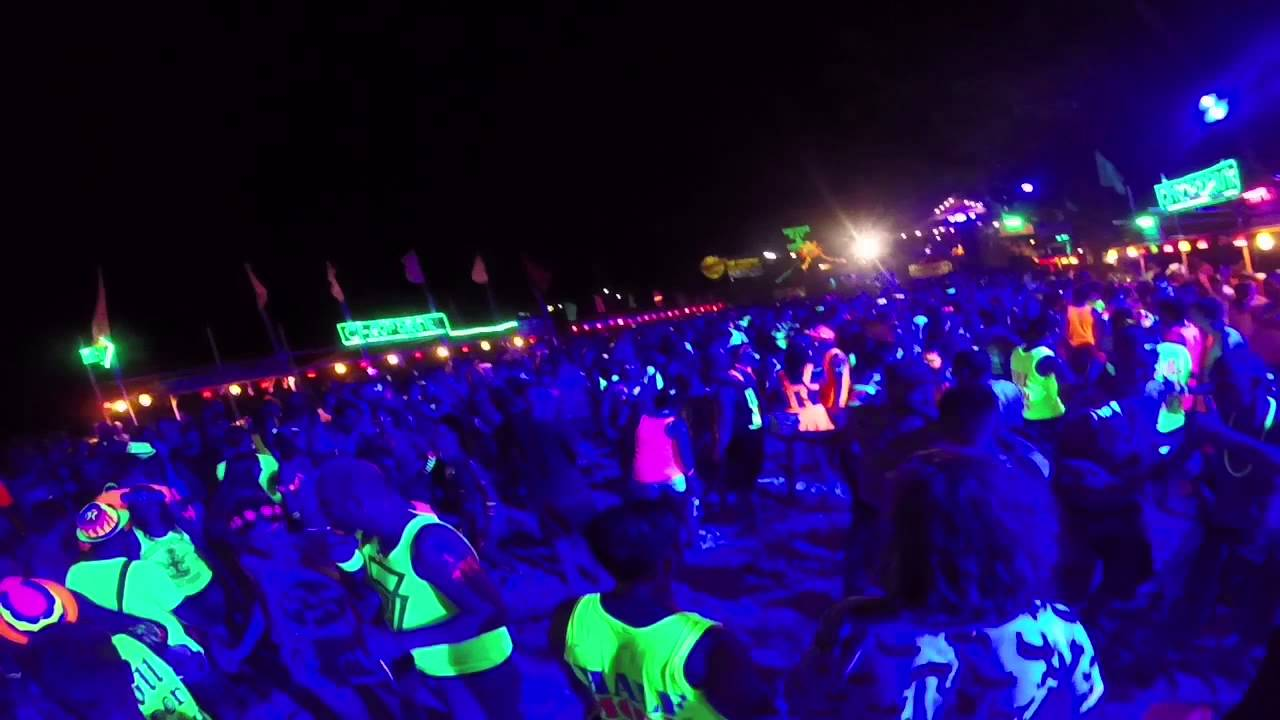 Haad Rin Full Moon Party - March 2015 - YouTube
