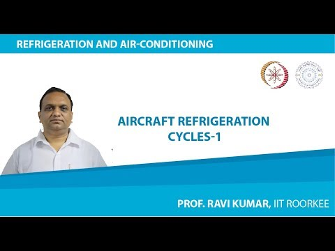 Lecture 4: Aircraft Refrigeration Cycles-1