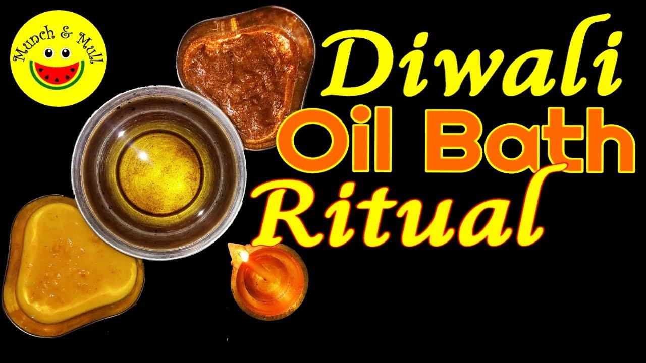 What is Oil Bath? Is Oil Bath good for Health? The Oil Bath Diwali Ritual (2020)