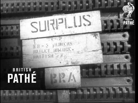 U.S. War Surplus For U.K. (1946)