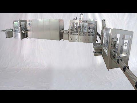 automatic bird nest liquid filling bottling line jars washing drying filler capper 全自動燕窩瓶裝線