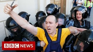 What's behind the Moscow protests? - BBC News