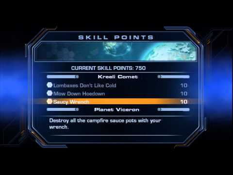 #60 Ratchet & Clank Future: Tools of Destruction | Skills Points (list)