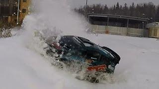 На что способен Basher BSR Rally зимой