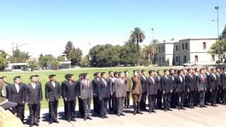 Escuela de Carabineros. Ceremonia de ingreso aspirantes a oficiales año 2014