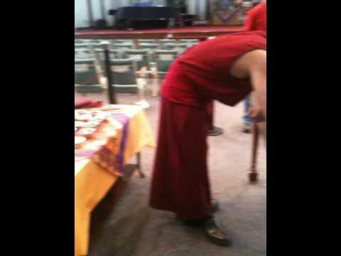Beautiful Mandala creation by TIbetan Monks at Unity North, November 2009