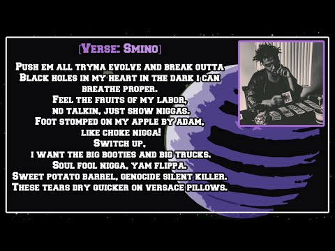 Smino - Blkjuptr [Lyric Video]