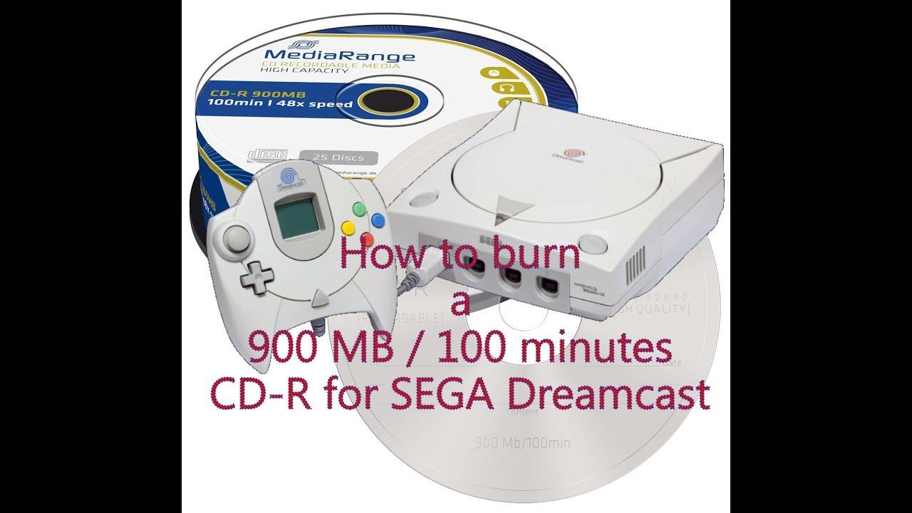 How To Burn A 900 Mb 100 Minutes CD R For Sega Dreamcast 5 Tutorial
