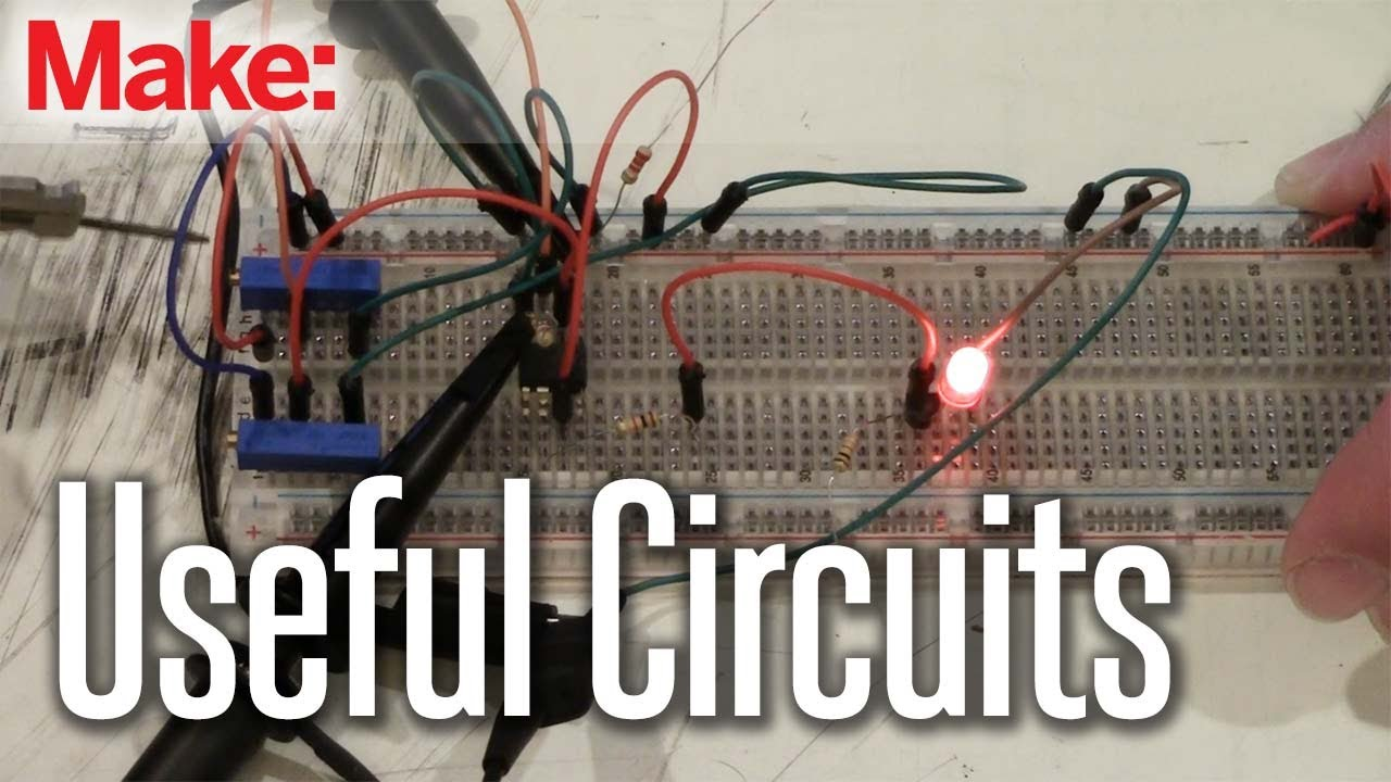 Projects With Ryan Slaugh Useful Circuits Youtube Electronic Circuit And