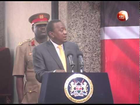 We will not relent in war against terror: Uhuru