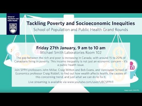 Tackling Poverty and Socioeconomic Inequities