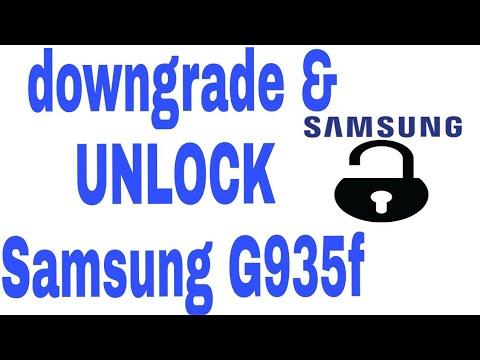 SAMSUNG DOWNGRADE MODEM AND UNLOCK NETWORK,G935F