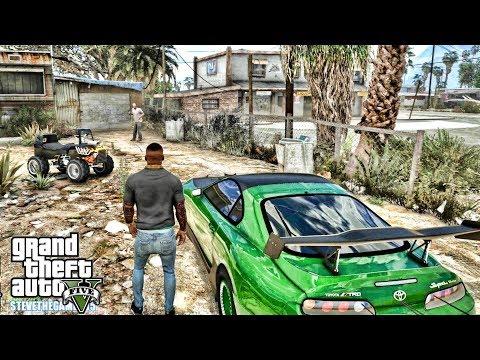 GTA 5 REAL LIFE MOD #672 - THE 5 SECOND SUPRA (GTA 5 REAL LIFE MODS)