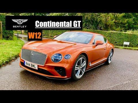 2019 Bentley Continetal GT W12 Review: James Bond's New Car? - Inside Lane