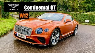 homepage tile video photo for 2019 Bentley Continetal GT W12 Review: James Bond's New Car? - Inside Lane