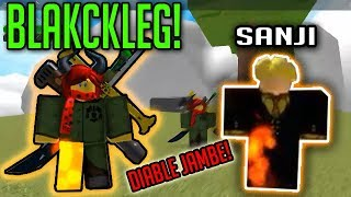 HOW TO GET BLACKLEG!? | One Piece Millenium | ROBLOX | Diable Jambe!?