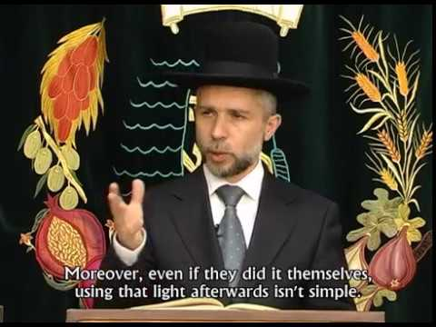 Laws of Combustion and Cooking on Holidays - Rabbi Zamir Cohen