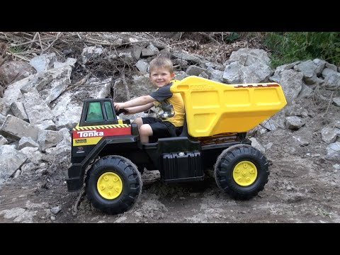 Thumbnail: THE TONKA 12V MIGHTY DUMP TRUCK