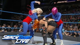 Download Becky Lynch vs. La Luchadora: SmackDown LIVE, Jan. 3, 2017 Mp3 and Videos